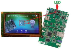 STemWIN – graphics demo for STM32F746G-DISCO and AC6 that
