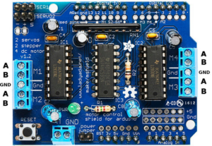 How to use the Adafruit Motor Shield on STM32 NUCLEO | EMCU