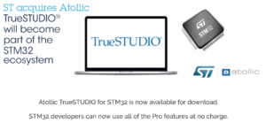 ATOLLIC TrueSTUDIO Pro features available for free for STM32 mcu | EMCU