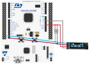 How to use SSD1306 I2C OLED display and NUCLEO-L053R8 board | EMCU