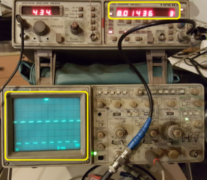 TIM14 PWM output, duty cycle regulated using a potentiometer | EMCU