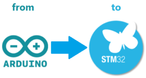 Change, from Arduino to STM32 | EMCU