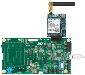 P-L496G-CELL01 – 2G/3G Cellular to Cloud Pack with STM32L496AG MCU