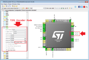 How to interface the rotary encoder to STM32 (CUBE-MX +