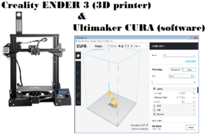 Configure Ultimaker CURA software for use the Creality 3D printer